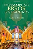 Nonsampling Error in Social Surveys, David E. McNabb, 1452257426