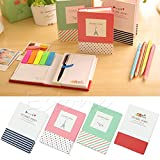 Kocome Sticker Post It Bookmark Notepad Memo Marker Sticky Flags Notes Book With Pen
