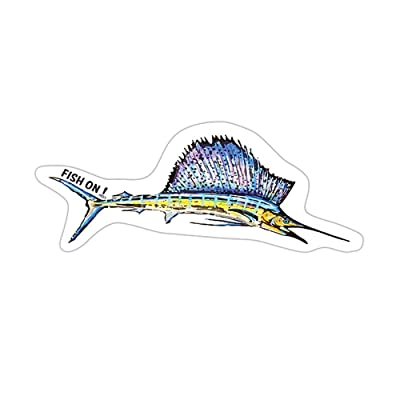 Fish On! Air Freshener (Sailfish): Automotive