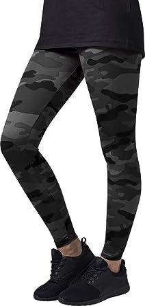 c4f887529a790b Urban Classic Women's Ladies Leggings, Multicolour (Dark camo), X-Small