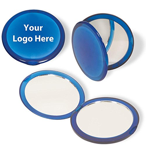 Pocket Dual Vanity Mirror - 150 Quantity - $1.25 Each - PROMOTIONAL PRODUCT/BULK/Branded with YOUR ()