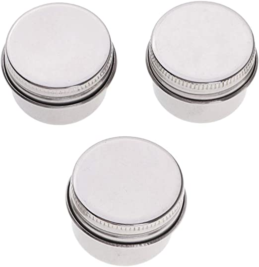 Fityle Double Stainless Steel Dipper Container Cup Pots Water Paint Palette Clip With Lid