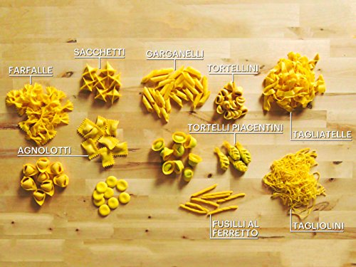 How to Make 29 Handmade Pasta Shapes With 4 Types of Dough