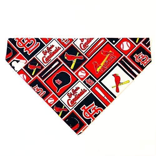 St. Louis Cardinals Dog Bandana No-Tie]()