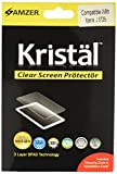 Amzer AMZ95307 Super Clear Screen Guard Protector Shield with Cleaning Cloth for Sony Xperia J ST26i - 1 Pack - Retail Packaging - Clear