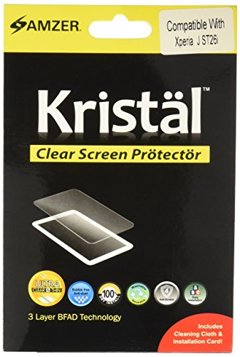 Amzer AMZ95307 Screen Protector Cleaning