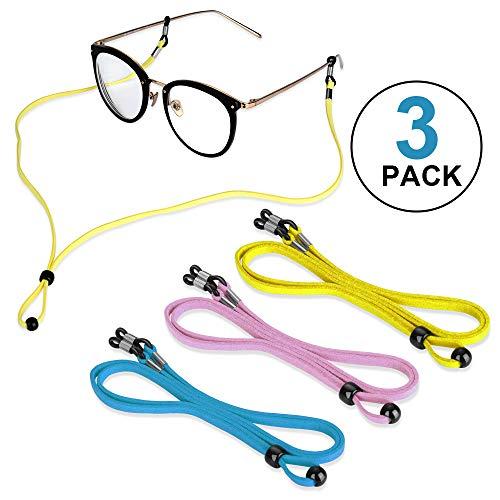 6 Stück Leder Brillenband Brillenbänder Brillenkordel Brillenkette