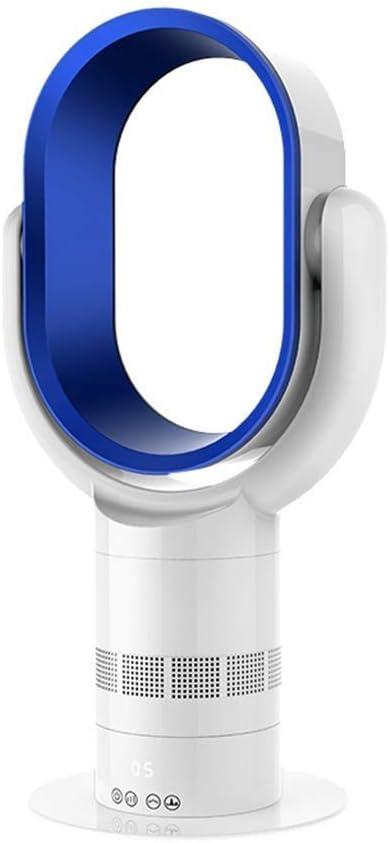 SCH Ventilador sin Hojas Ventilador de sobremesa Ultra silencioso, Control Remoto, Ventilador de Torre Vertical sin Ventilador de aspa (Color : Blue): Amazon.es: Electrónica