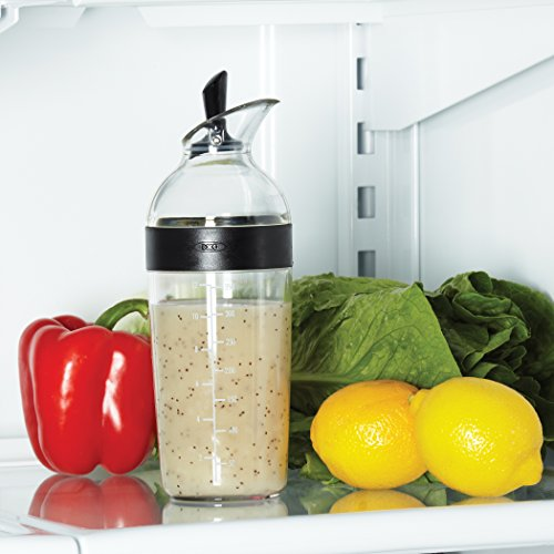 OXO Good Grips Salad Dressing Shaker, Black