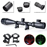 Best Airsoft Scopes - Twod Rifle Scope Tactical 6-24X50mm AOEG Optics Hunting Review