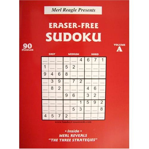 picture regarding Merl Reagle Printable Crossword Puzzles titled Eraser-Absolutely free Sudoku, Amount A: Merl Reagle Dennis Aramanda