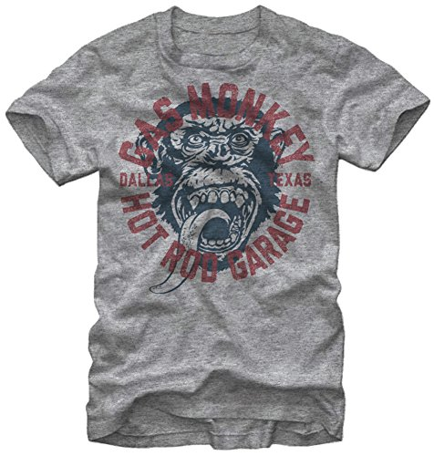 Gas Monkey Garage Business Logo Vintage Style Adult T-shirt