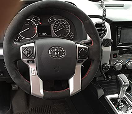 Toyota Tundra 2007-17 cubierta del volante 2014+ de RedlineGoods