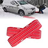 Firebug Escaper Buddy Traction Mats for Off-Road Mud, Sand, Snow Vehicle Extraction (Set of 2), Red