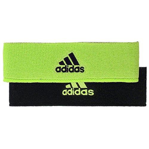 adidas Interval Reversible Headband, Slime/Black, One -