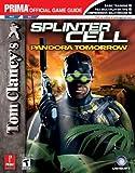 Tom Clancy's Splinter Cell: Pandora Tomorrow (PS2/GC) (Prima Official Game Guide)