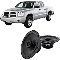 Fits Dodge Dakota 2005-2007 Front Door Factory Replacement Harmony HA-R65 Speakers New