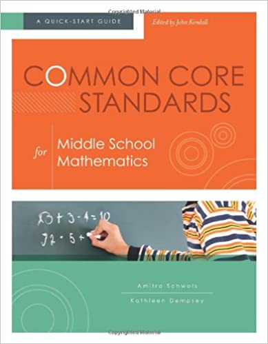 Download e-book Common Core Standards for Middle School