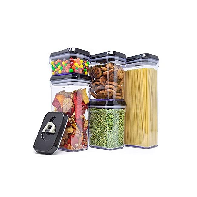 Royal Air-Tight Food Storage Container Set - 5...