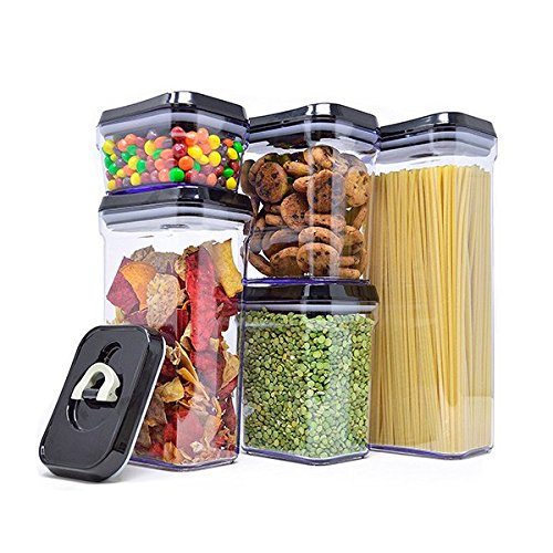 Royal Air-Tight Food Storage Container Set - 5-Piece Set