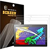 Mr Shield For Lenovo Tab 2 A10-70 10.1 Inch Premium Clear Screen Protector [3-PACK] with Lifetime Replacement Warranty