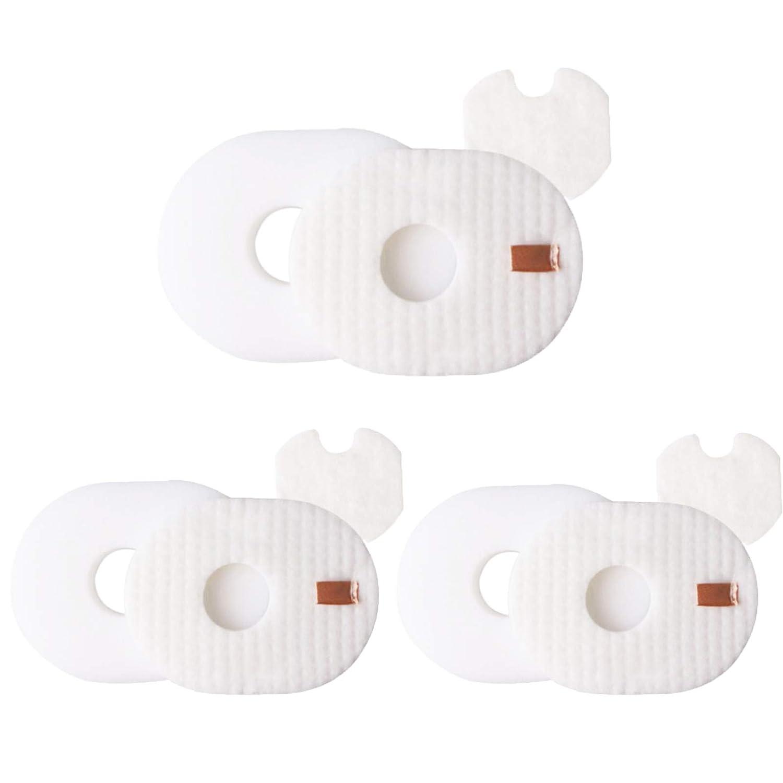 Aunifun 3 Allergen + 3 Foam & Felt Filters Kit Replacement Shark Rocket Ultra-Light Vacuum HV292, HV300, HV300W, HV301, HV302, HV303, HV305, HV308, HV310, UV450 Part XFFV300