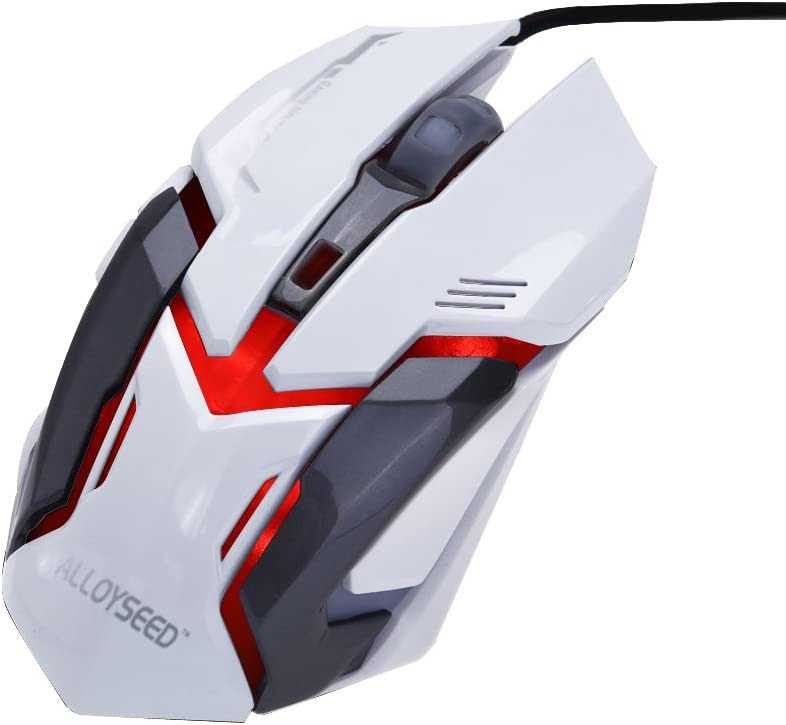Everpert ALLOYSEED VMO-161 Wired USB Gaming Mouse 6 Buttons