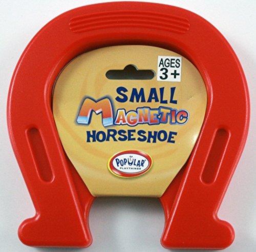 Blue Horseshoe Magnet Fun Novelty Gift Pocket Money Party...
