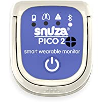 Snuza Pico 2 Smart Baby Movement Monitor with Mobile App - Works Anywhere with or Without Your Phone to Track Breathing…