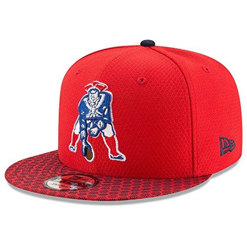 Hat Vintage Era (New England Patriots New Era 9Fifty Vintage 2017 On Field Sideline Snapback Hat)