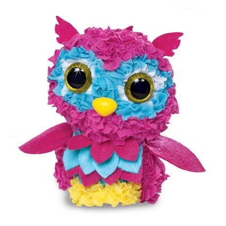 Plush Craft 3D Owl Fabric Fun Kit