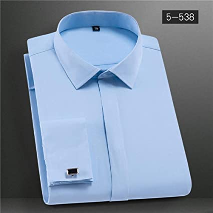CSDM Camisa de Hombre Cuff Men S Vestido de Camisa Camisa ...