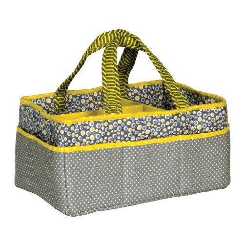 Trend Lab Storage Caddy, Hello Sunshine Scrapbooking Caddy Tote
