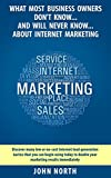 What Most Business Owners Don't Know And Will Never Know About Internet Marketing: Discover many low cost internet lead generation tactics that you can ... Linkedin, Facebook and Email Marketing)