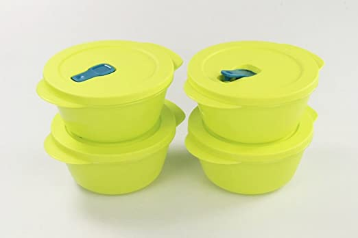 Tupperware Microondas crystalwave 800 ml (4) cal Micro Wave Pop ...