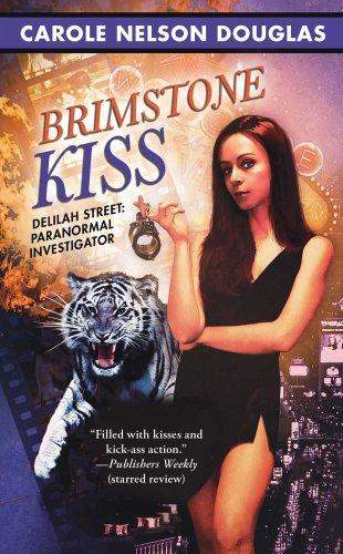 book cover of Brimstone Kiss