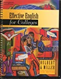img - for By Jack E.Jack E. Hulbert Hulbert Effective English for Colleges (10th Tenth Edition) [Spiral-bound] book / textbook / text book