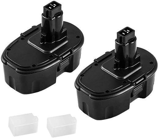 Amazon.com: Paquete de 2 baterías Ni-MH Dewalt de repuesto ...