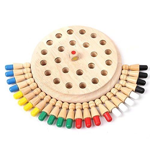 Montessori Juguete NiñosYosoo Memoria Piezas De Para 24 Ajedrez dBexroC