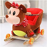 Tickles Plush Baby Rocking Chair Swing Seat Kids Ride On Rocking Cradle Toy 50 Cm