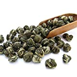 Tealyra - Imperial Jasmine Dragon Pearls - Loose Leaf Green Tea - Jasmine Green Tea with Pleasant Aroma and Tonic Effect - Best Chinese Green Tea - 100g (3.5-ounce)