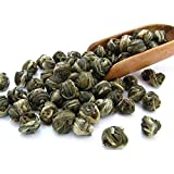 Tealyra - Imperial Jasmine Dragon Pearls - Loose Leaf Green Tea - High Quality Jasmine Green Tea - Organically Produced - Pleasant Aroma and Tonic Effect - 100g