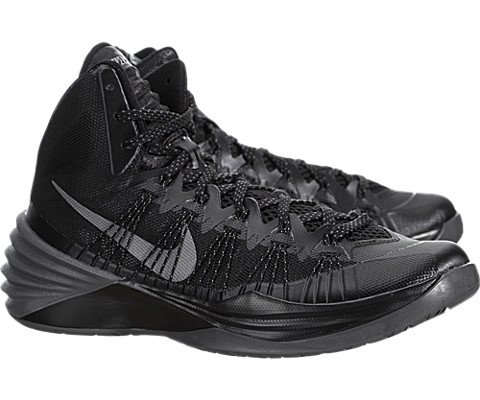 772e095ec439 Nike Hyperdunk 2013 - Black   Metallic Silver-Dark Grey