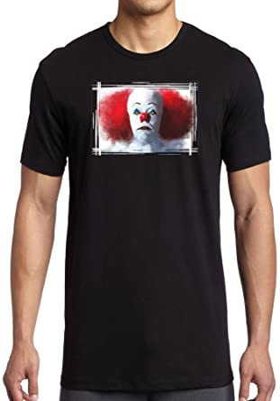 2bb99cf75 Stephen King's It Pennywise Portrait - Mens T-Shirt: Amazon.co.uk ...