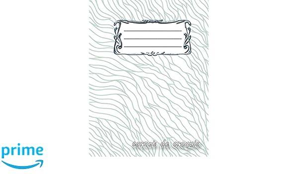 carnet de croquis: Bloc-notes vierge | Format A4 | 112 pages ...
