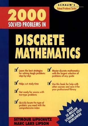 SOLVED DISCRETE 2000 MATHEMATICS IN PROBLEMS