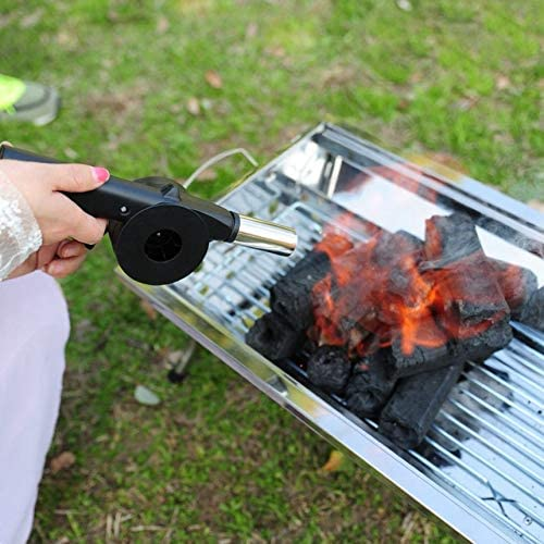 Pennymomo Barbecue Fire Bellows Tools Outdoor Cook BBQ Fire Manual Fan Air Blower