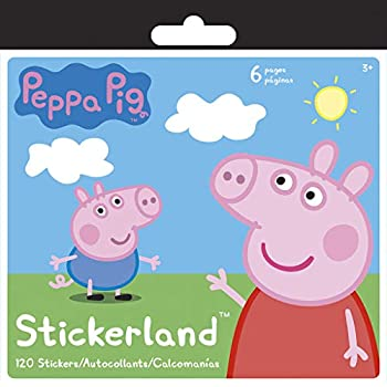 Amazon.com: Pegatinas Peppa Pig Stickerland con Pegatina ...