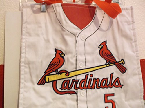 - Embroidered St Louis Cardinals Tote- #5 Pujols
