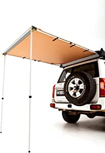 Adventure Kings 1.4x2m 4WD Rear Awning Waterproof UPF50+ Outdoor Shade Camping